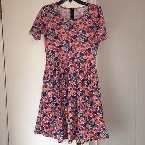 Lularoe Small floral dress